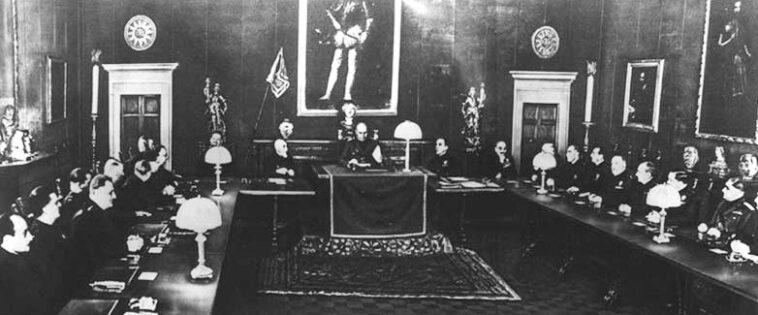 La seduta del Gran consiglio del 9 maggio 1936